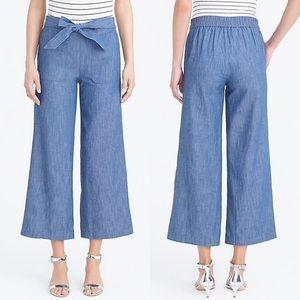 J. Crew chambray pants size 00